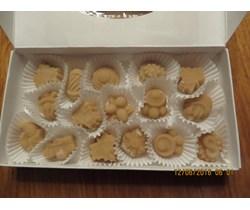 Quarter Pound Box of New York Maple Sugar Candy Copy