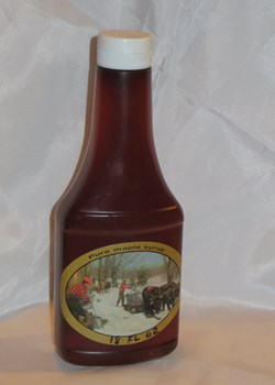 500 ml of Pure New York Maple Syrup in a Squeeze Bottle
