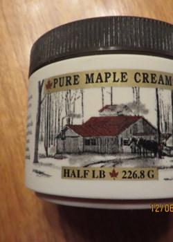 Half Pound of New York Maple Cream
