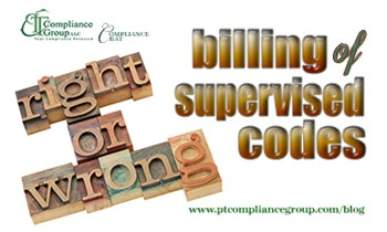 Billing of Supervised Codes