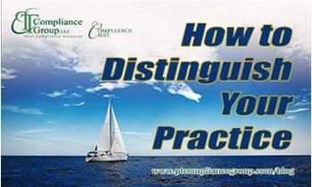 How to Distinguish Your Practice