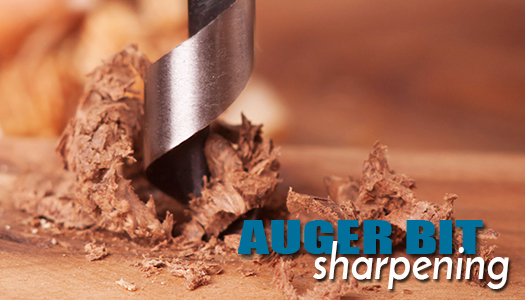 Auger Bit Sharpening