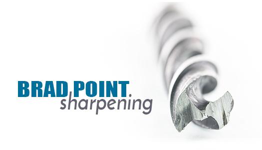 Brad Point Sharpening
