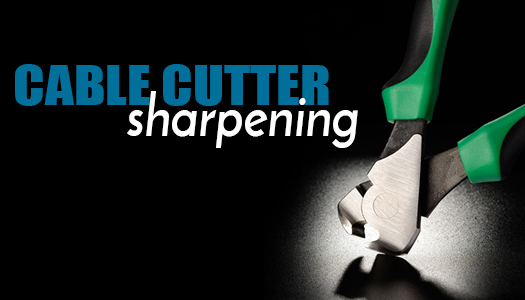 Cable Cutter Sharpening