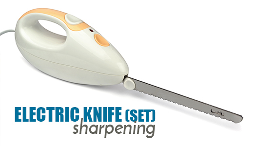 Electric Knife (set) Sharpening