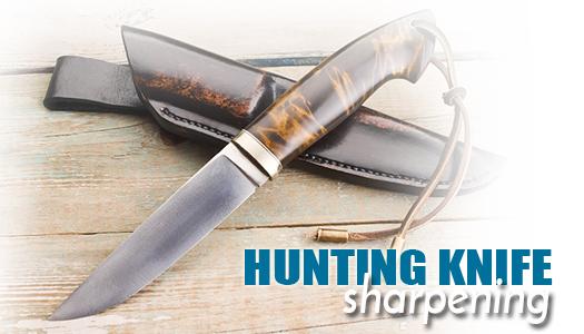Hunting Knife Sharpening