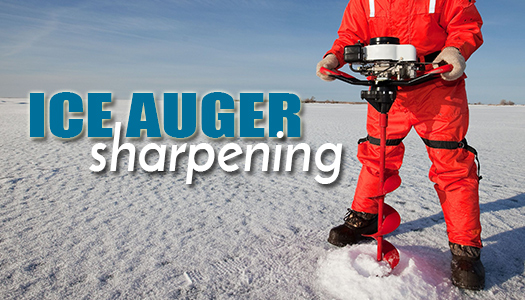 Ice Auger Sharpening