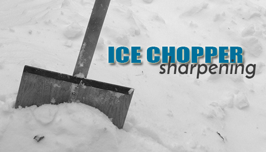Ice Chopper Blade Sharpening