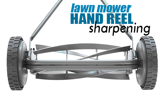 Lawn Mower Hand Reel Sharpening