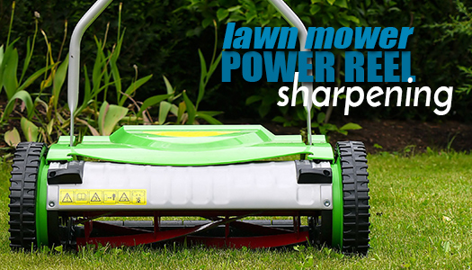 Lawn Mower Power Reel Sharpening