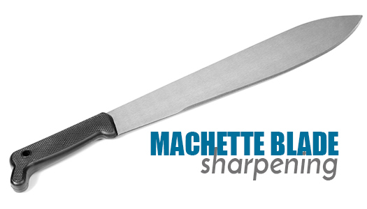Machette Blade Sharpening