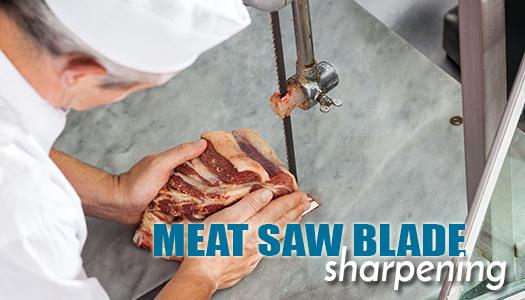 Meat Saw Blade Sharpening