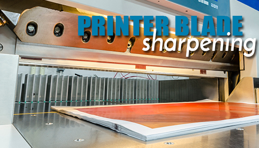 Printer Blade Sharpening