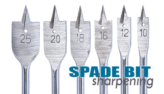 Spade Bit Sharpening