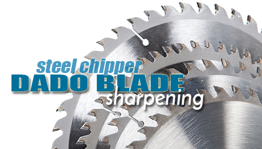 Steel Chipper Dado Blade Sharpening