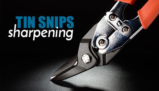 Tin Snips Sharpening