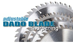 Adjustable Dado Blade Sharpening
