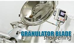 Granulator Blade Sharpening