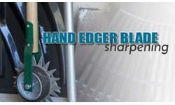 Hand Edger Blade Sharpening