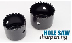 Hole Saw Sharpening