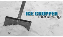 Ice Chopper Blade Sharpening