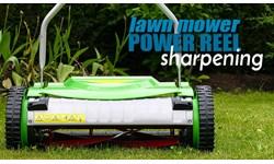 Lawn Mower Power Reel Sharpening