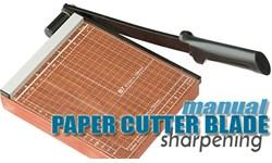 Paper Cutter (manual) Blade Sharpening