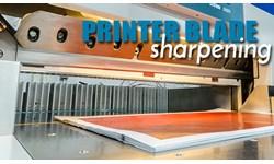Printer Blade Sharpening