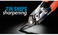 Tin Snips Sharpening