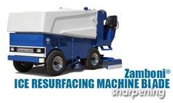 Zamboni® Ice Resurfacing Machine Blade Sharpening