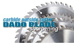Carbide Outside Cutter Dado Blade Sharpening