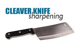 Cleaver Knife Sharpening