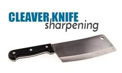 Cleaver Knife Sharpening