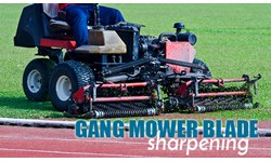 Gang Mower Blade Sharpening