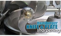 Hamburger Knife and Plate Sharpening