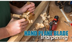 Hand Plane Blade Sharpening