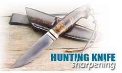 Hunting Knife Sharpening
