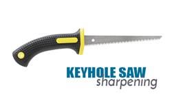 Keyhole Saw Sharpening