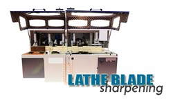 Lathe Blade Sharpening