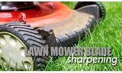 Lawn Mower Blade Sharpening