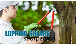 Lopping Shears Sharpening