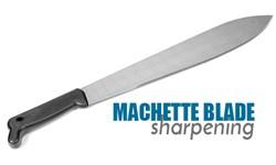 Machette Blade Sharpening