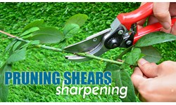 Pruning Shears Sharpening