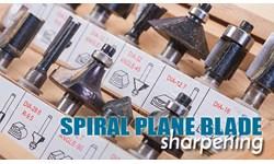 Spiral Plane Blade Sharpening