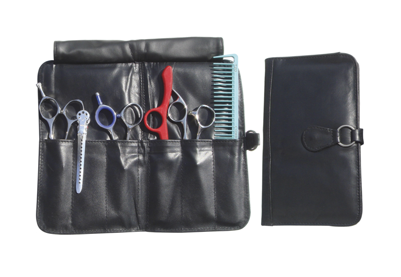 LC1002 6-Shear Leather Bi-Fold Case