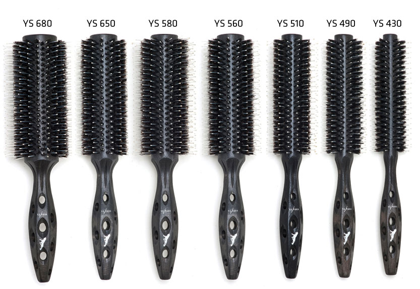 YS Park Carbon Tiger Series Brush Sizes