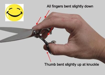 Optimal Hand Positioning with Hikari Five Finter Ergonomic Positioning System