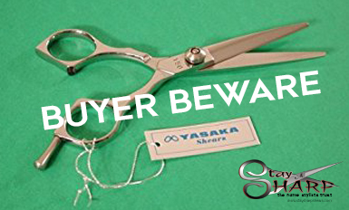 buyer beware hair cutting shears yasaka