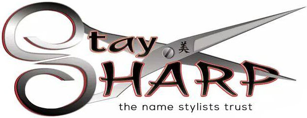 Stay Sharp Styling Scissors Logo