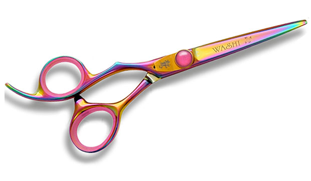 Washi LUF GR Lefty Shears - Golden Rainbow